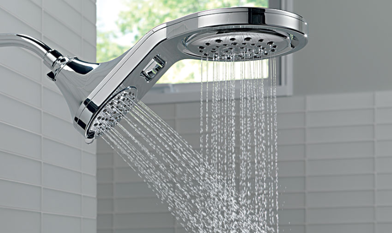 double feature shower head