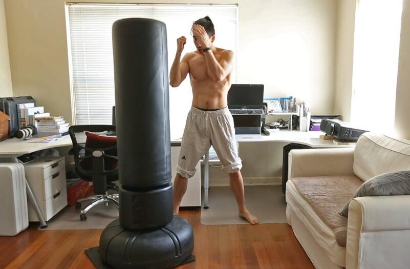 best floor punching bag reviews
