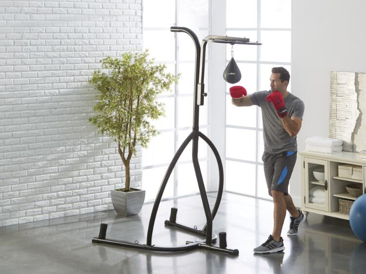 floor punching bag with stand